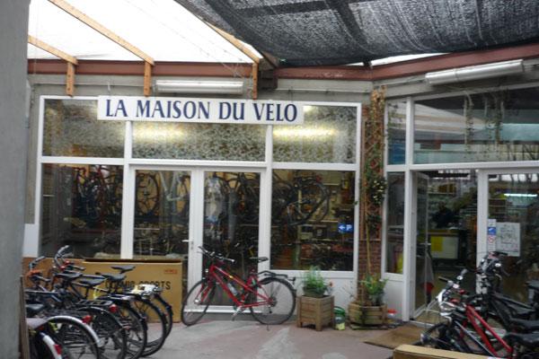 La maison du vélo à Bruxelles